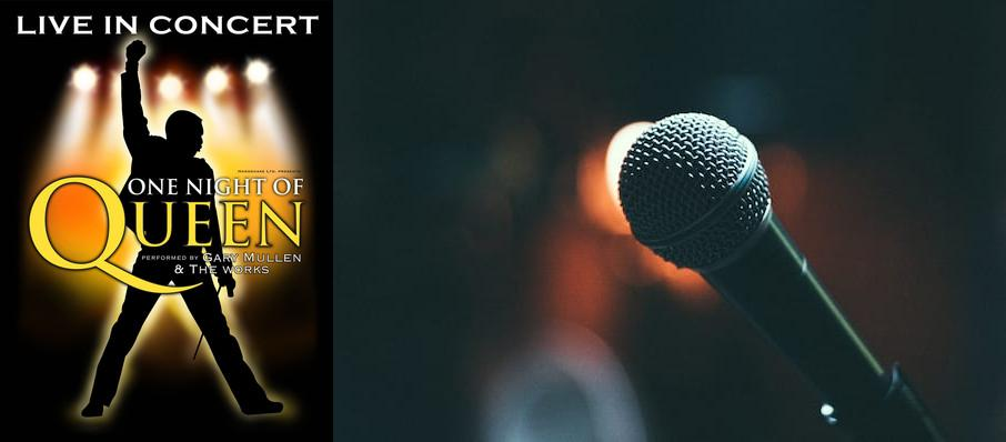 One Night of Queen at Tilles Center Concert Hall
