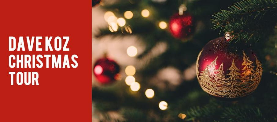 Dave Koz Christmas Tour at Tilles Center Concert Hall