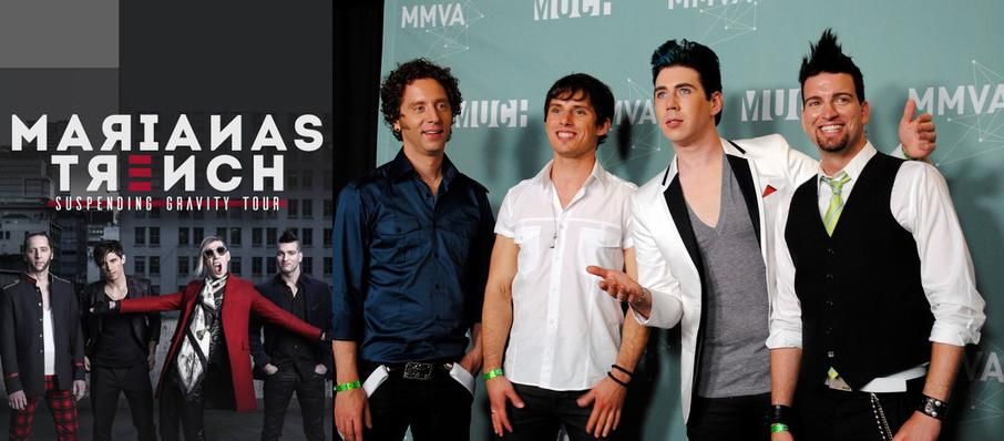 Marianas Trench at Tilles Center Concert Hall