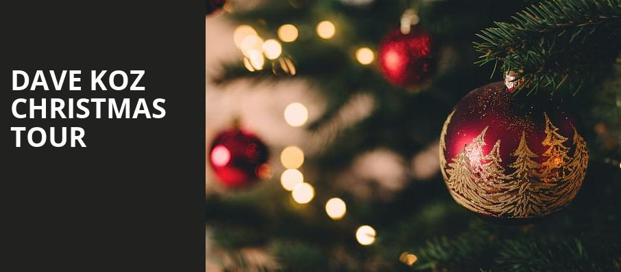 Dave Koz Christmas Tour, Tilles Center Concert Hall, Greenvale